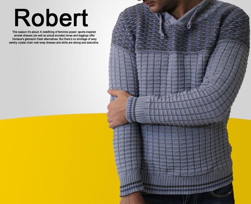 بافت مردانه مدل  روشن Robert