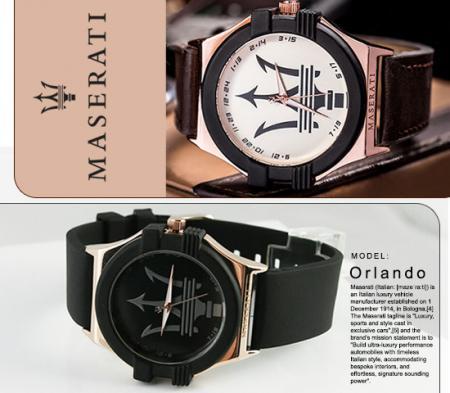 ساعت مچی Maserati مدل Orlando
