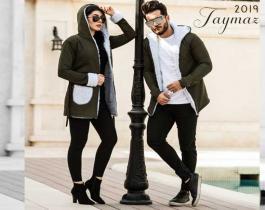 ست هودی زنانه و مردانه مدل Taymaz