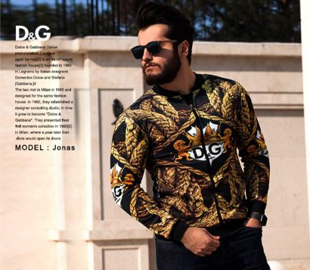 سویشرت مردانه D&G مدل Jonas
