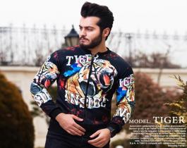 سویشرت مردانه مدل Tiger
