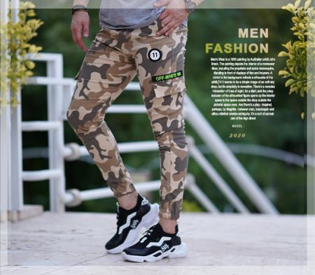 شلوار اسلش ارتشی مردانه مدل Epicure