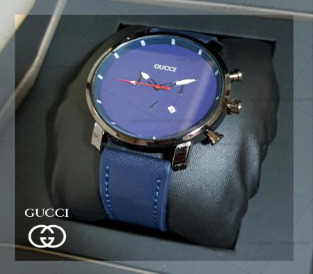 ساعت مچی مردانه Gucci مدل Slip(سورمه ای)