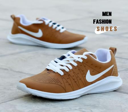 کفش مردانه Nike مدل pel (کاراملی)
