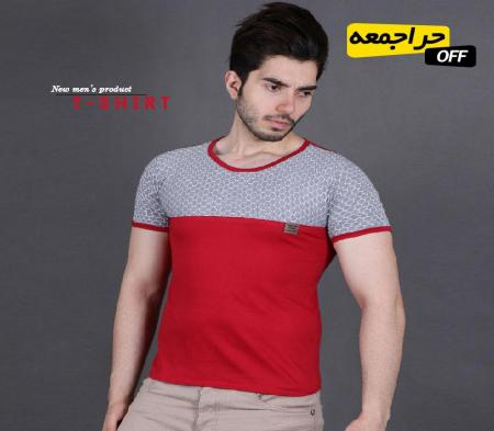 تیشرت مردانه ROMANSON(قرمز)