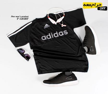 تیشرت مردانه مدل adidas Black